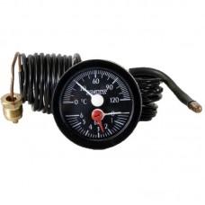 Термоманометр капиллярный (круглый) ф 52мм IMIT