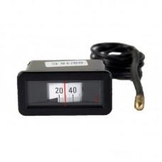 Термометр (прямоугольный) для котлов 58*25 мм. IMIT